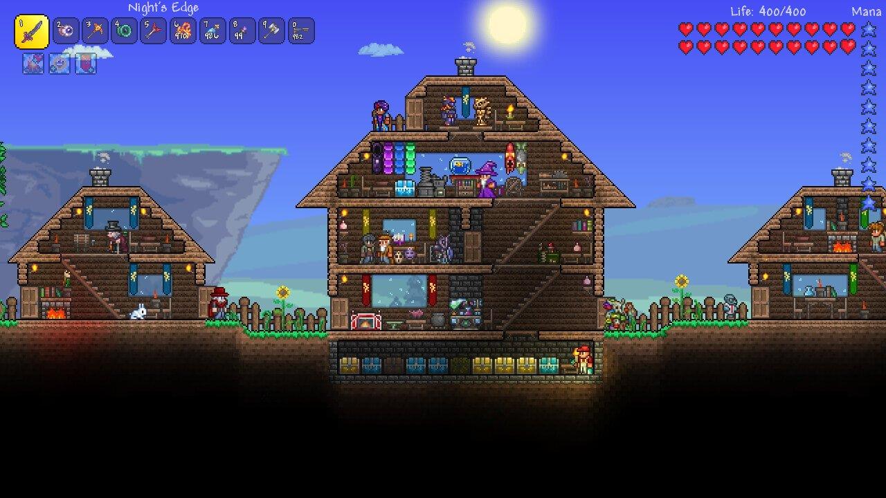 Terraria Patch Und Lokalisierung Spielepost - Minecraft terraria spielen