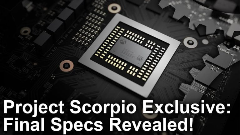 Project Scorpio – Finale Hardware Details