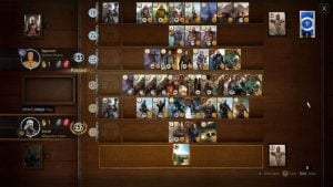 Gwent in Witcher 3