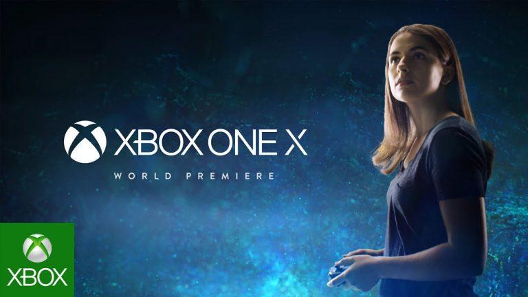 Xbox One X – E3 Weltpremiere der neuen Konsole in 4K