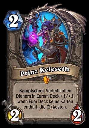 Hearthstone Guide - Prinz Keleseth