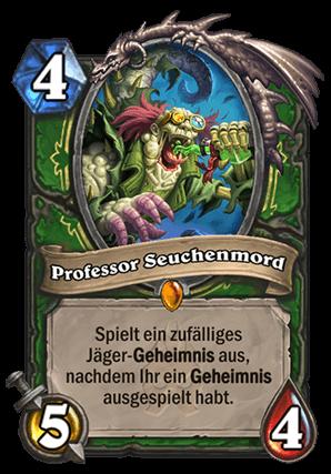 Hearthstone Jäger Guide - Professor Seuchenmord