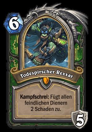 Hearthstone Jäger Guide - Todespirscher Rexxar