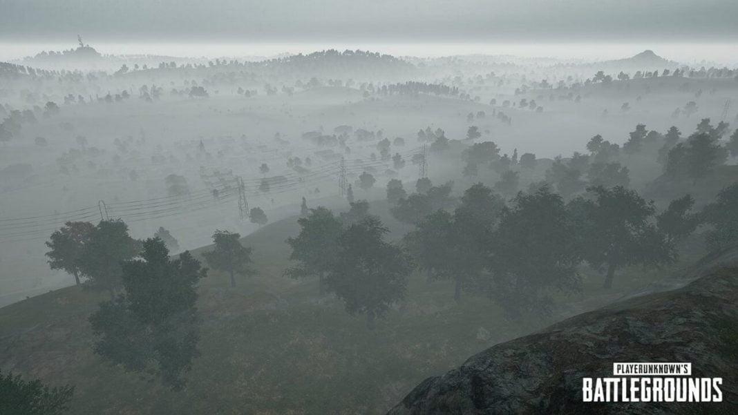 PLAYERUNKNOWN'S BATTLEGROUNDS Fog