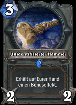 Hearthstone - Unidentifizierter Hammer