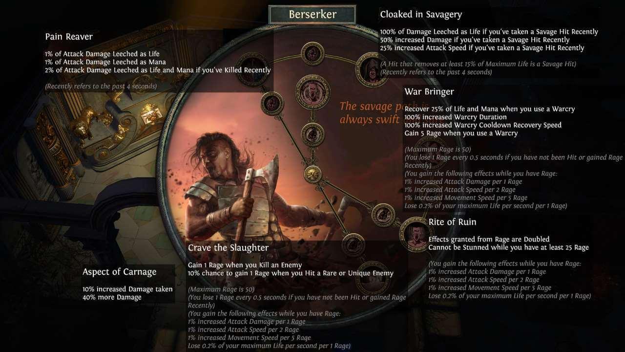 Path of Exile - Berserker