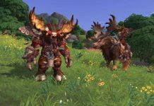 World of Warcraft Bild des neuen Taurenvolks
