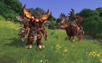 World of Warcraft Bild des neuen Taurenvolks