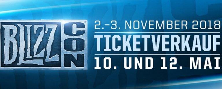 BlizzCon 2018 – Termine für die Tickets sind da!