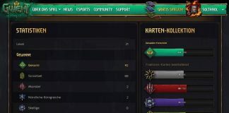 GWENT Profil