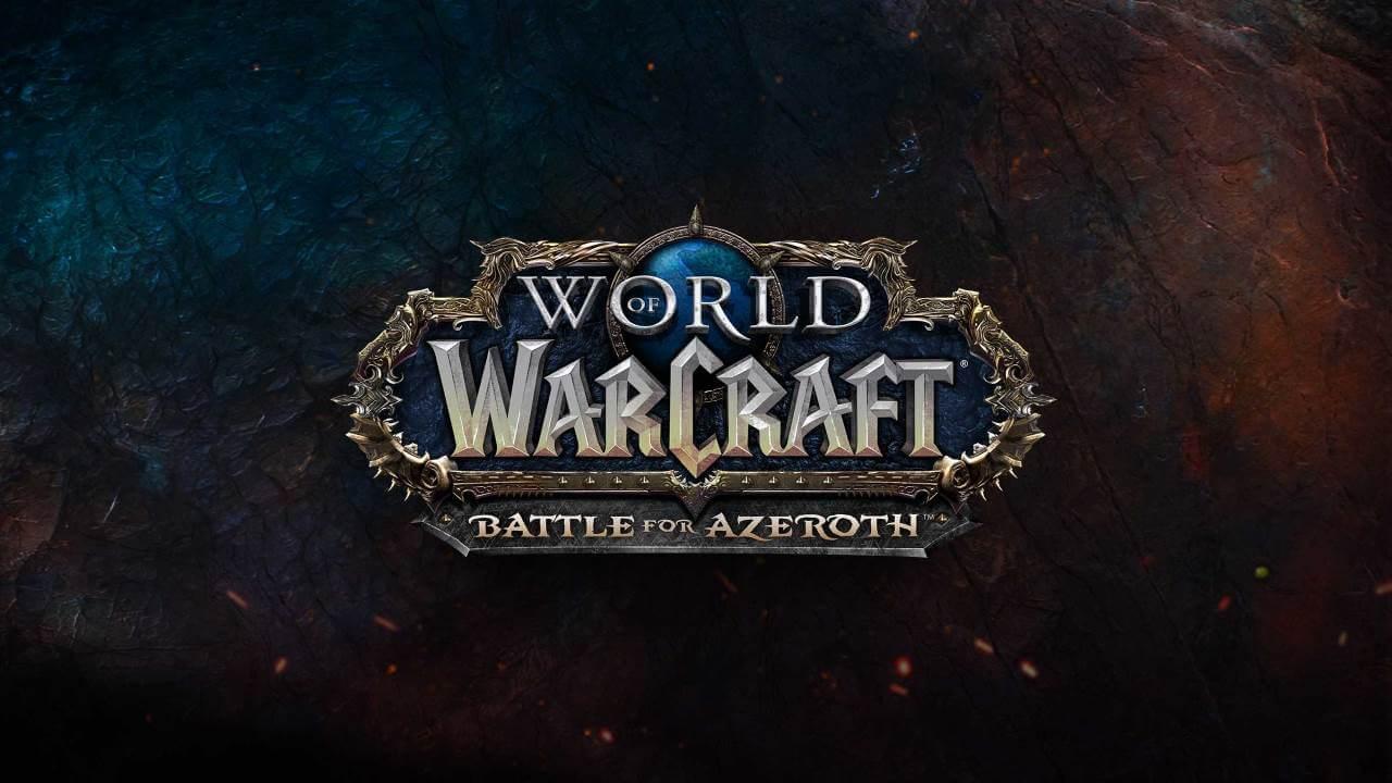 World of Warcraft - Logotipo de Batalla por Azeroth