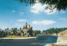 PLAYERUNKNOWN'S BATTLEGROUNDS Insel Bild aus der Sanhok Karte