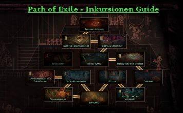 Path of Exile Inkursionen Guide
