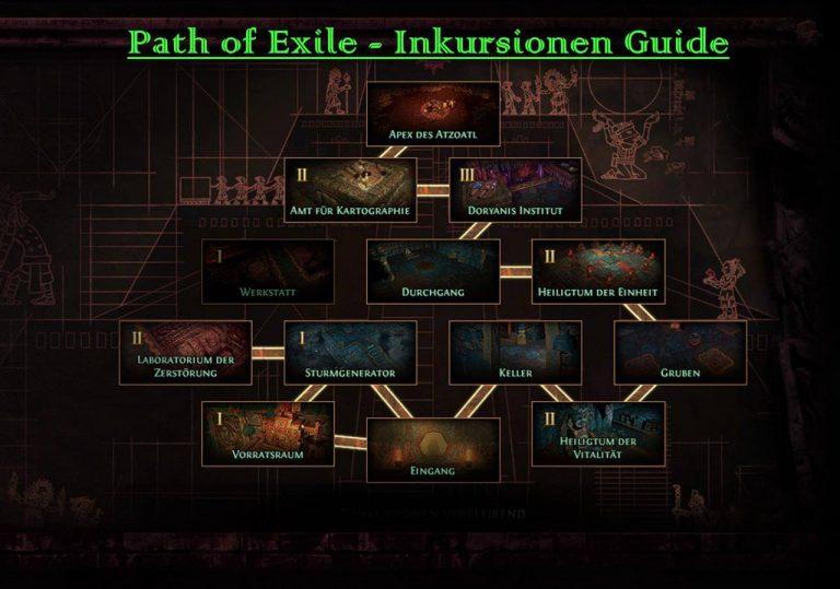 Path of Exile – Deutscher Guide für die Inkursionen