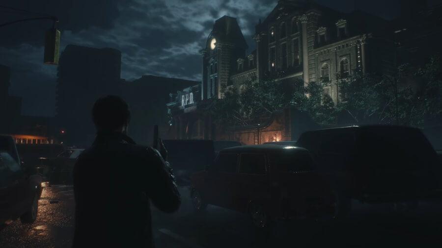 Resident Evil 2 Remake - Stadt