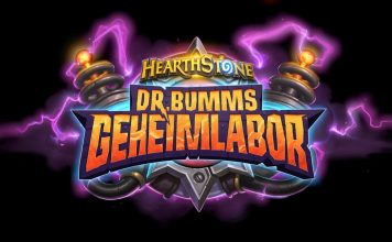 Hearthstone Dr. Bumms Geheimlabor Logo