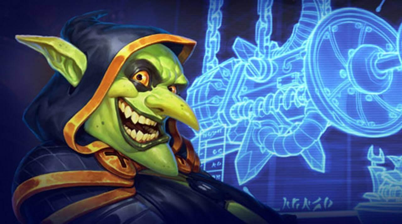 Hearthstone - Photo de la couverture du laboratoire secret du Dr Bumm