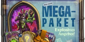 Hearthstone - Bild des Mega Pakets