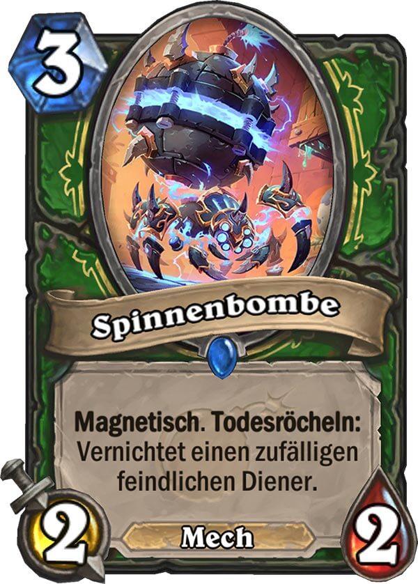 Hearthstone - Spinnenbombe