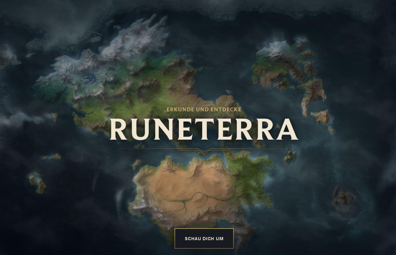 League of Legends - Mapa del mundo