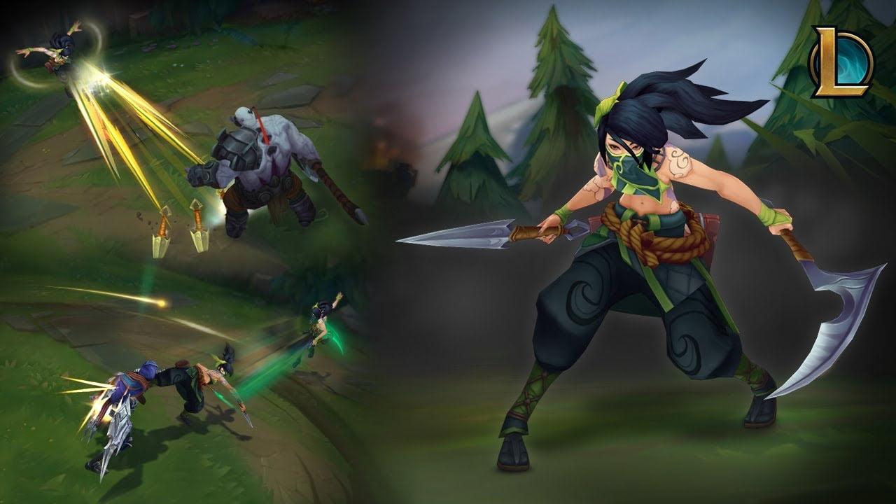 League of Legends foto del nuevo Akali en acción
