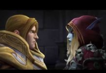 World of Warcraft Battle for Azeroth Titelbild mit Anduin und Sylvanas