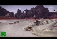 World of Warcraft - Blick auf die neue Zone Vol'dun