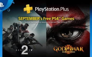 Playstation Plus September Spiele Destiny 2 , God of War 3, Another World und mehr