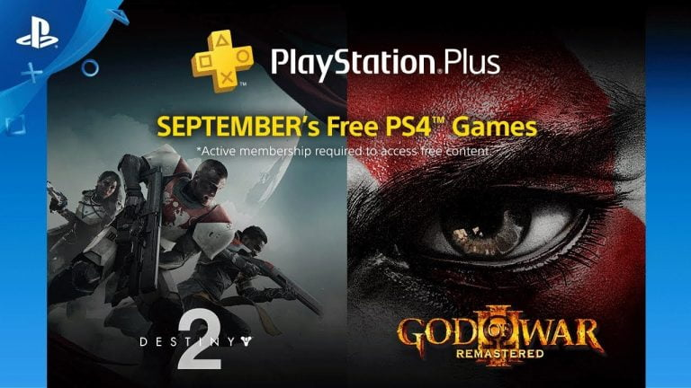 PlayStation Plus – Destiny 2 , God of War 3 und mehr im September