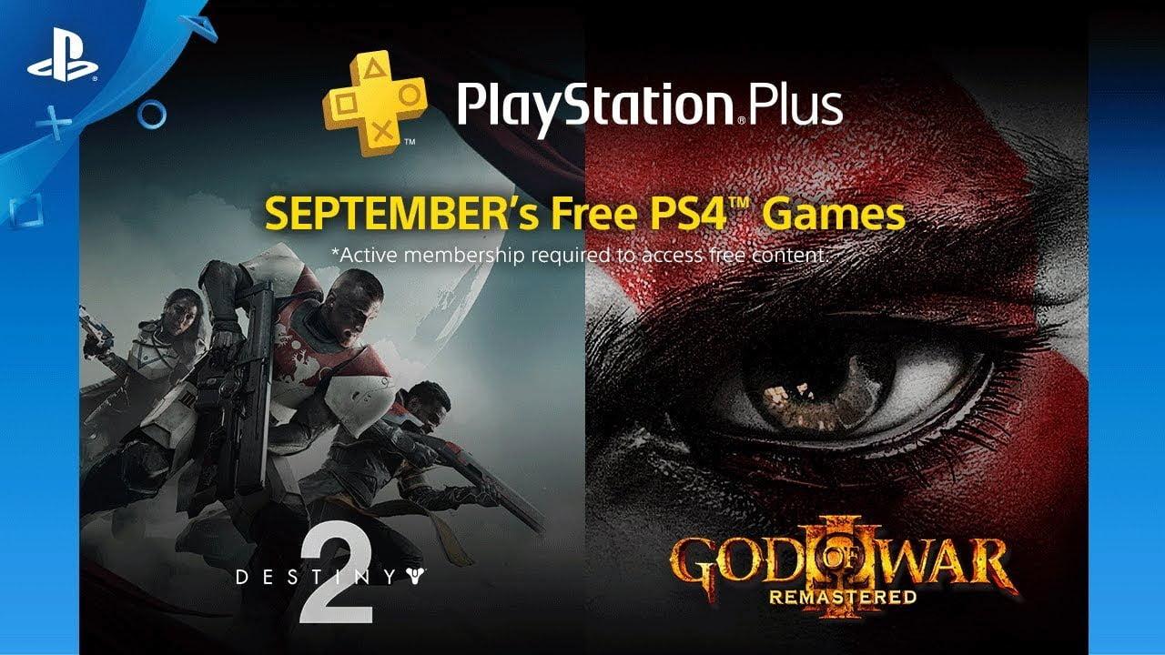 Los juegos de Playstation Plus September Destiny 2, God of War 3, Another World y más
