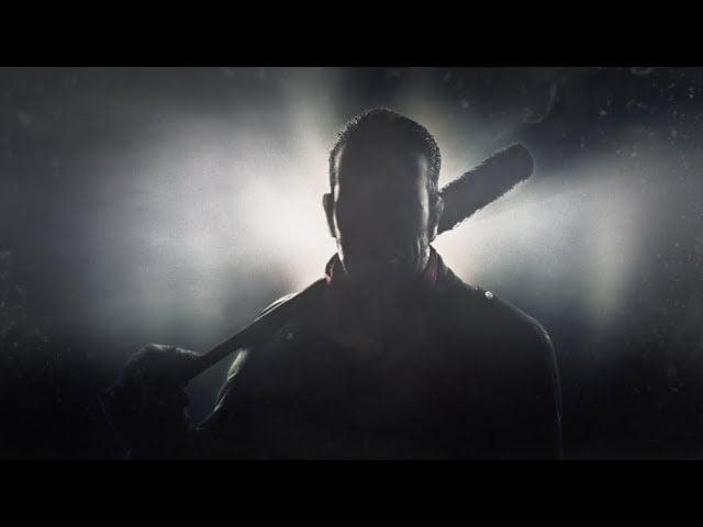 Tekk7 Schattenbild von Negan aus The Walking Dead