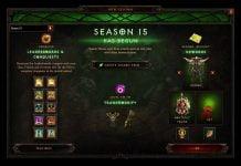 Diablo 3 - Screen des Saison 15 Start Bildschirms