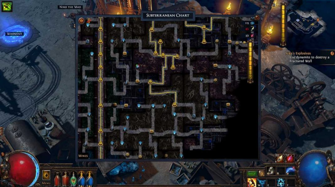 Path of Exile - Azurit Mine