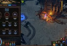 Path of Exile - Bild der Minen Upgrades