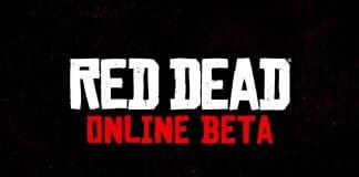 Red Dead Redemption 2 - Schriftzug für Red Dead Online Beta