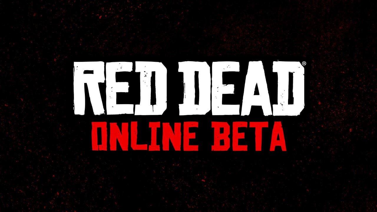 Red Dead Redemption 2: rotulación para la beta de Red Dead Online