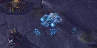 Starcraft 2 - Bild eines Medivacs