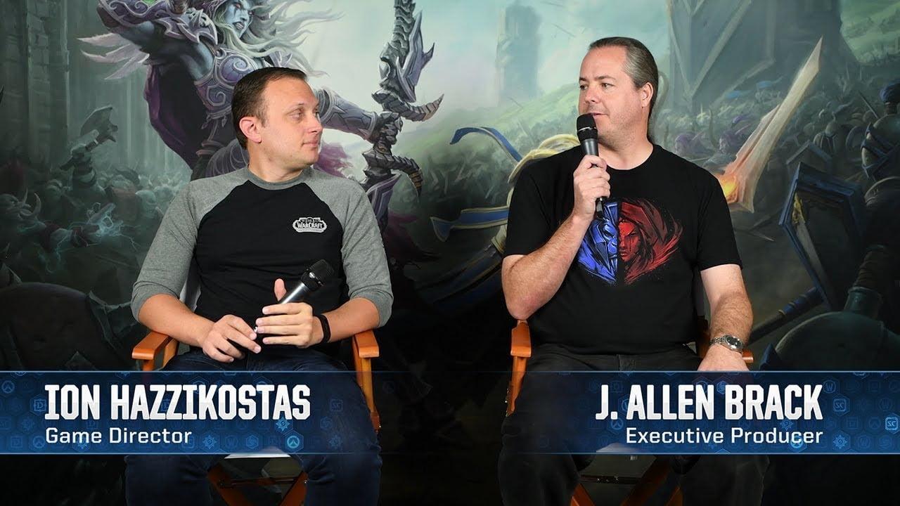 World of Warcraft Classic - Bild der beiden Entwickler