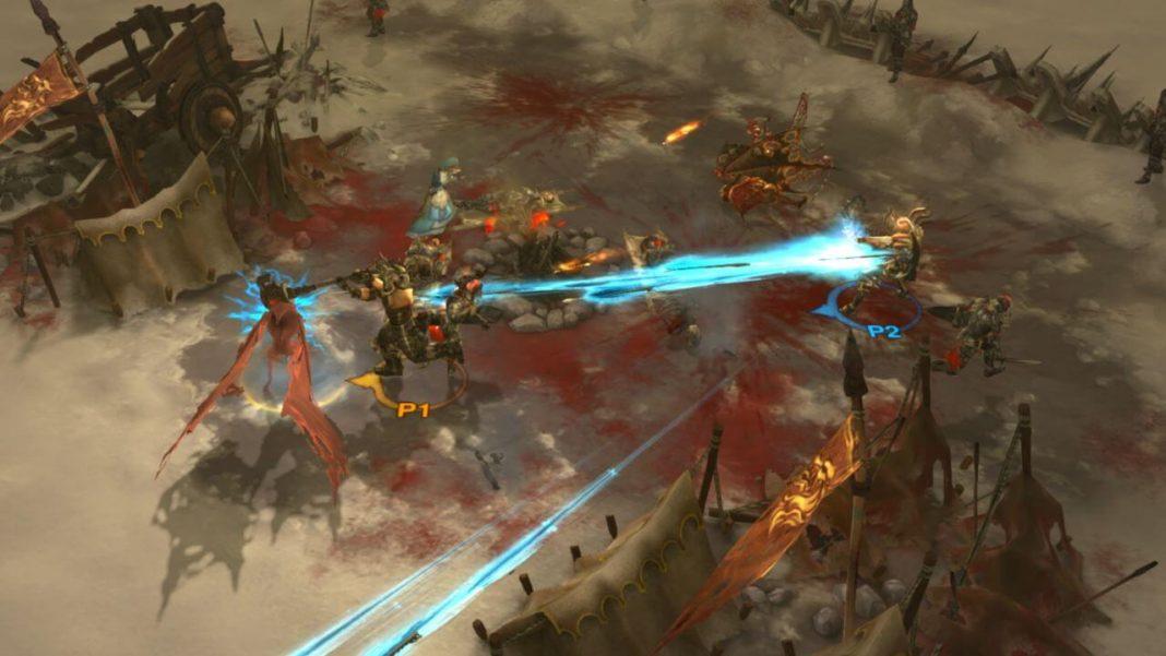 Diablo 3 Spielszene auf Konsole