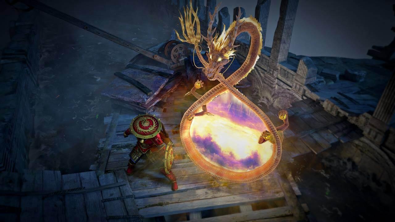 Path of Exile Nuevo portal de dragones MTX